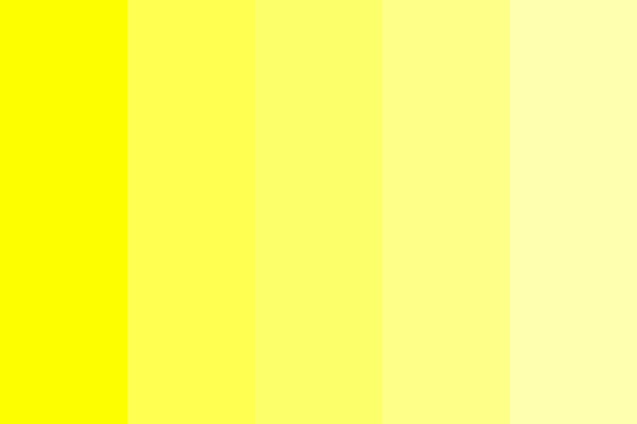 I Hate Yellow Color Palette