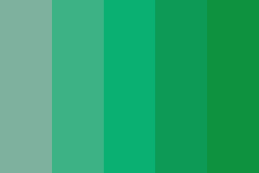 I Havent Worked In Teal Yet Color Palette
