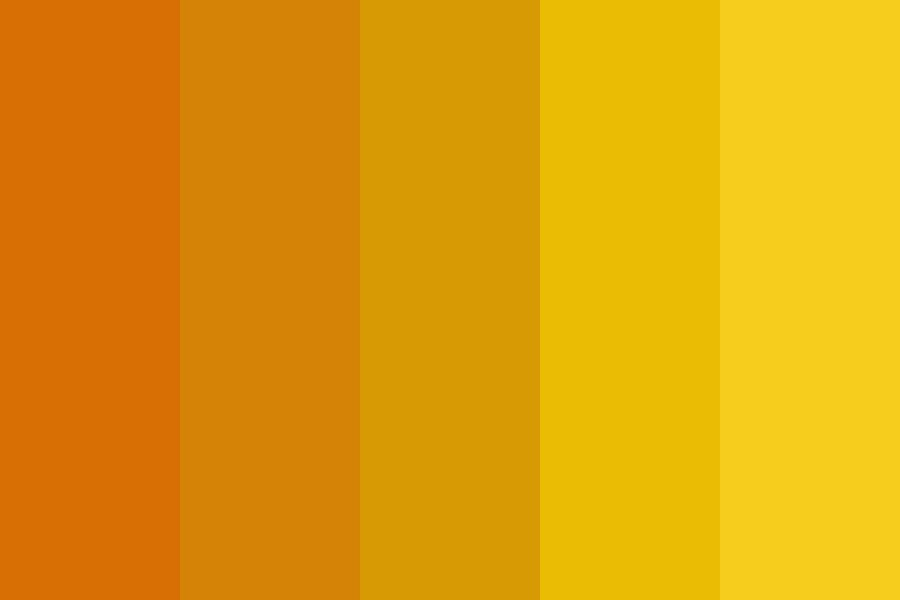 I Like The Yellow Ones Color Palette
