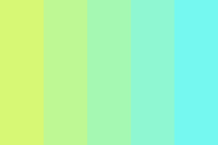 I Looked Up In The Sky And Forgot How To Breath Color Palette