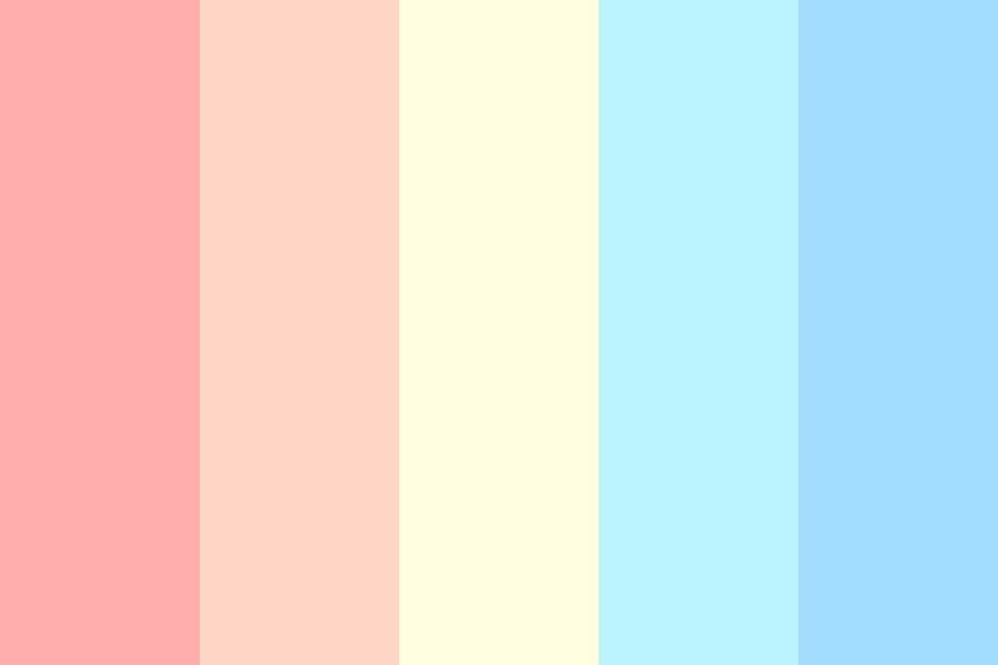 I Never Cared About The Weather Color Palette