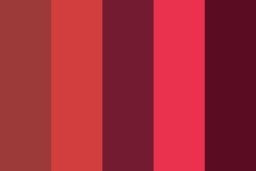 I Nutted Tbh Red Color Palette