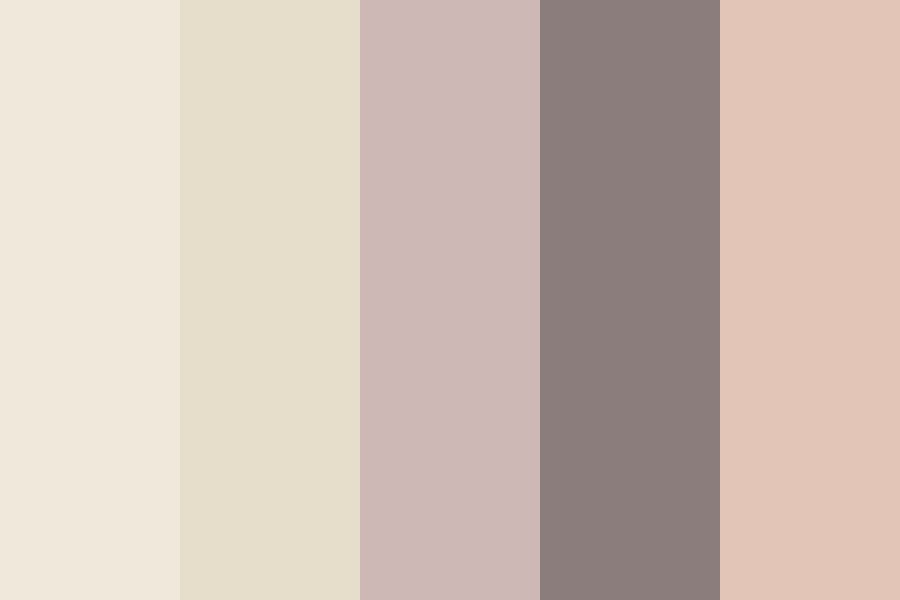 I Scream In Frustration But Theres Only An Echo Color Palette
