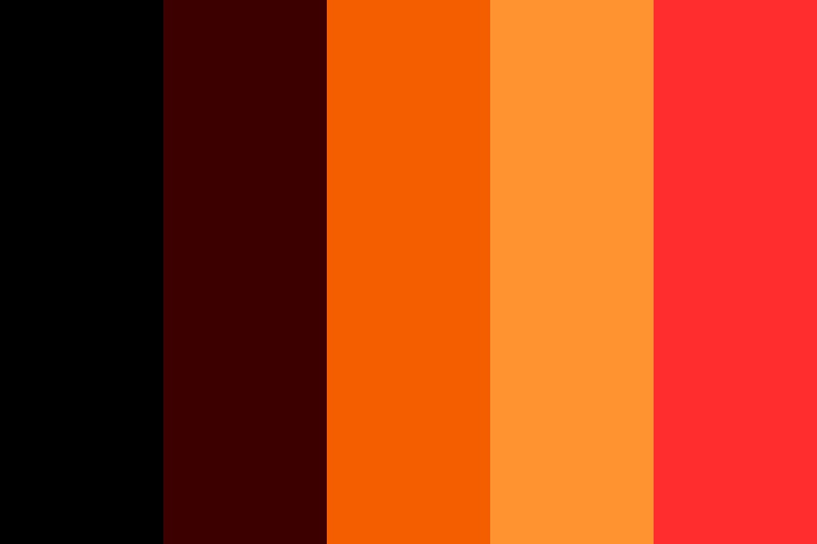 I Survived The Fire Color Palette
