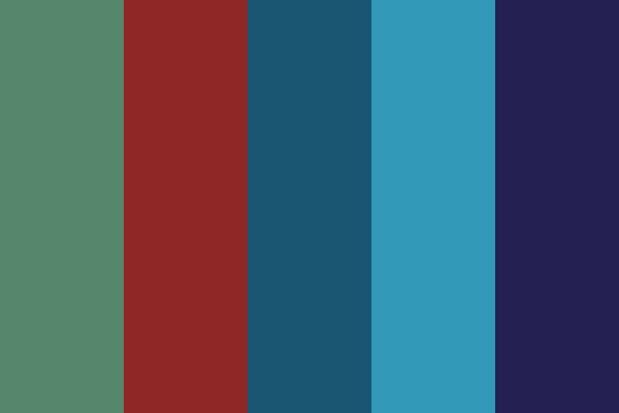 I Swallowed An Ocean Color Palette