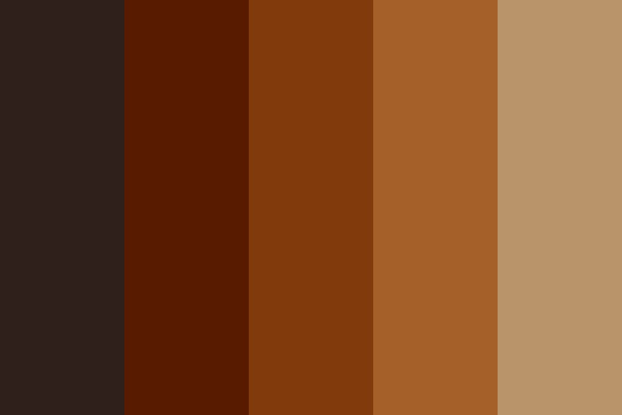 I Want To Go To A Coffee Shop Color Palette