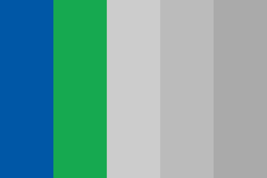 Ic Blue And Green Color Palette