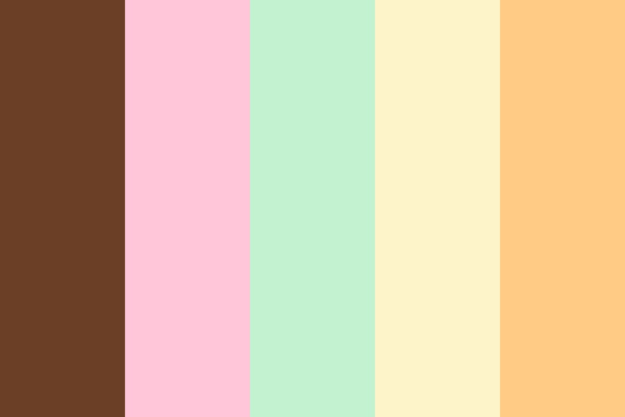 Ice Cream Color Palette