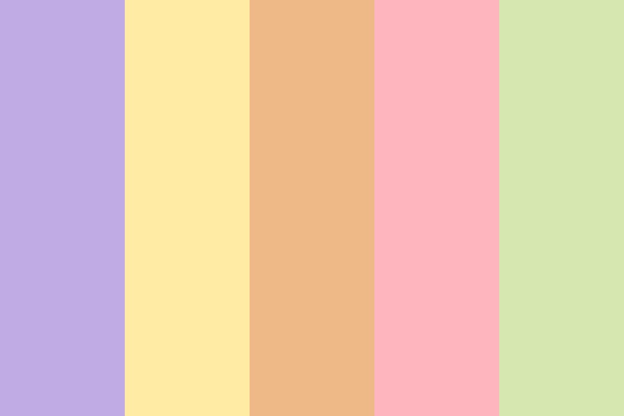 Ice Cream Scoop Color Palette