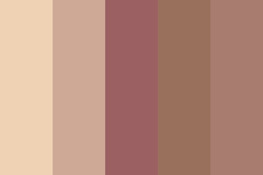 Iced Coffee Color Palette