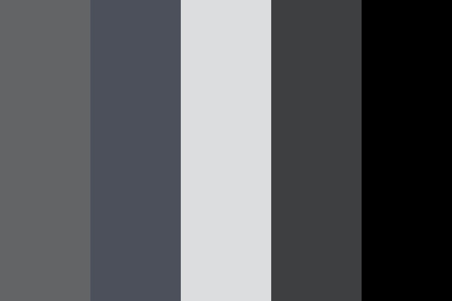 Icomm Greys Color Palette