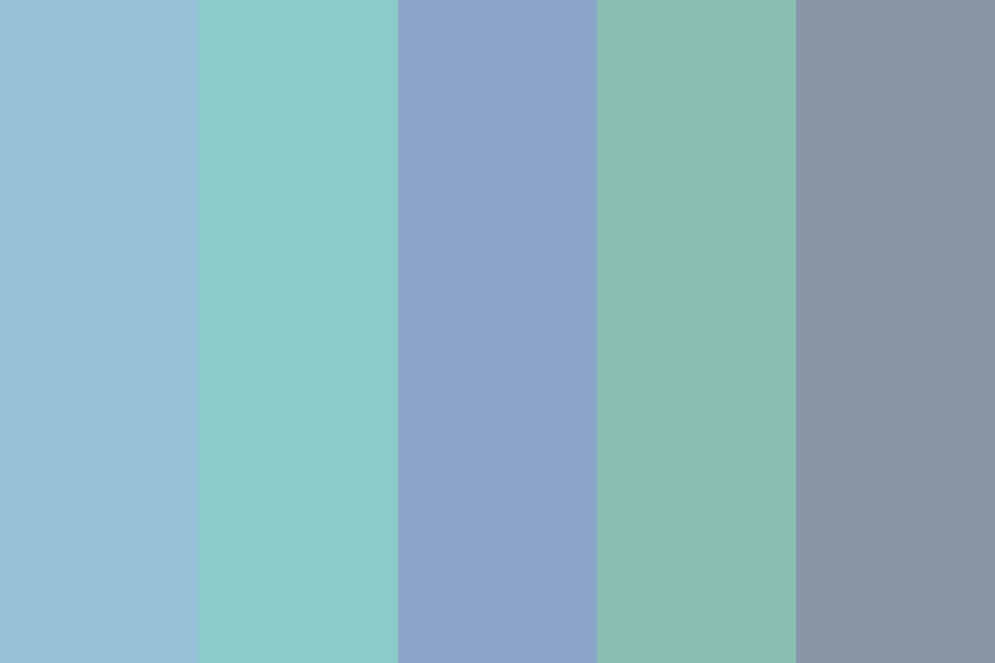 Icy Grays Color Palette
