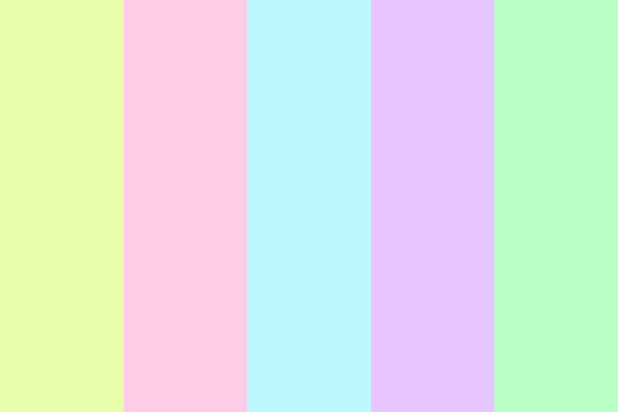 If I Made Flowers Color Palette
