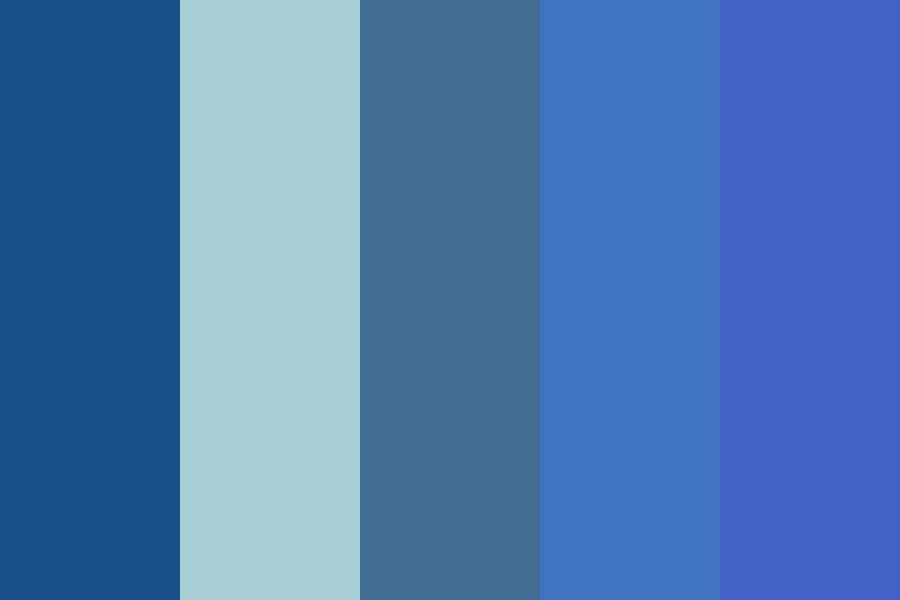 If The Sky Died Aka Some Bluez Color Palette