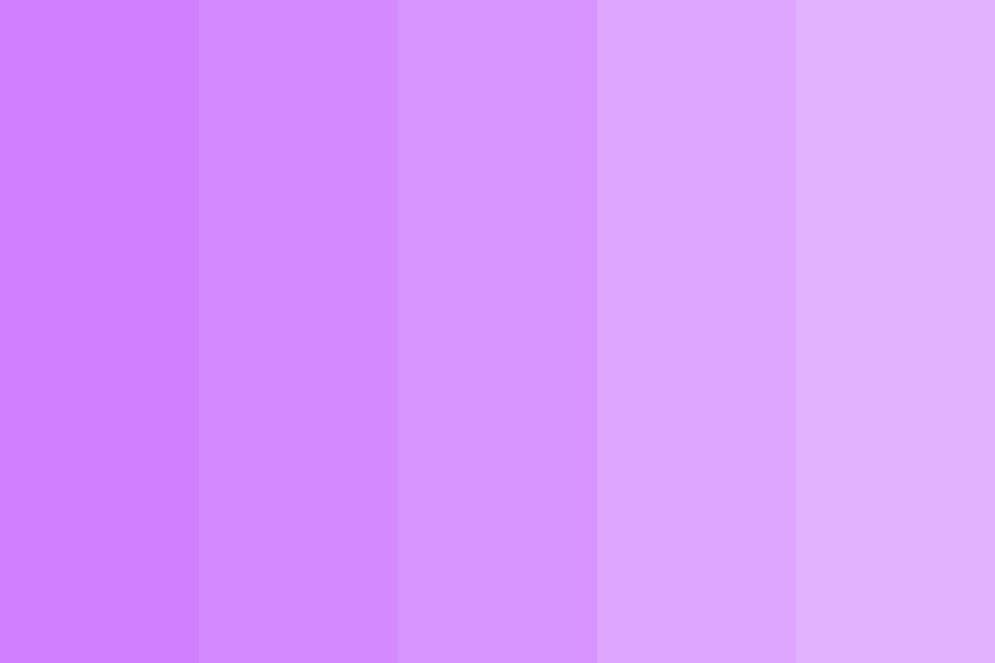 Illusion Purple Color Palette