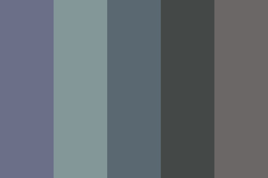 Im Scared You Dont Remember Me Color Palette