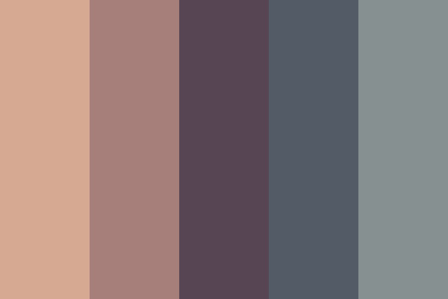 Imagine Dragons Night Visions Color Palette