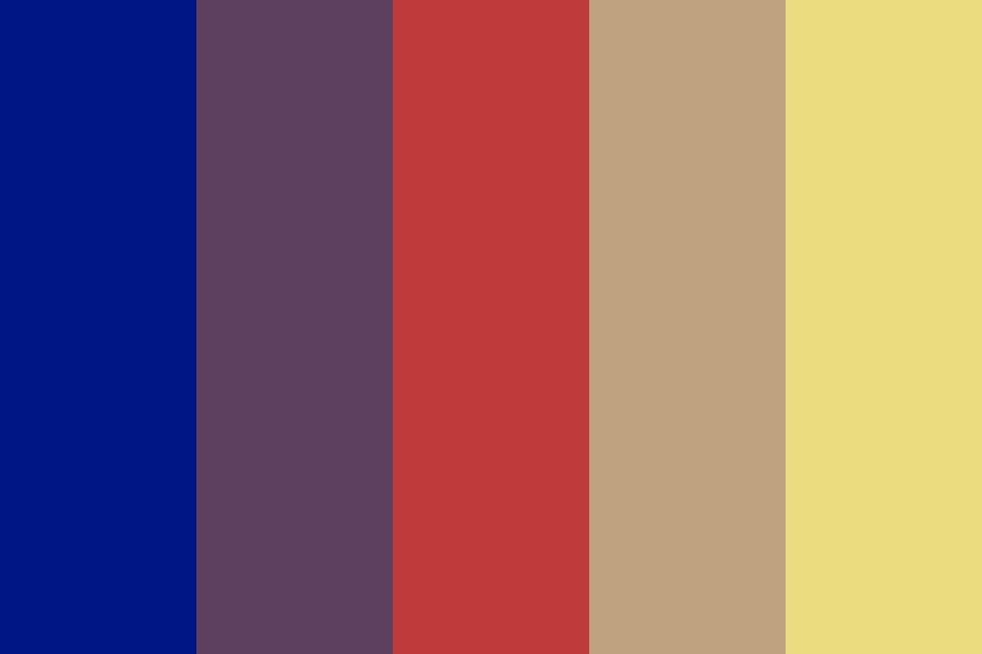 Imitation Fire Color Palette