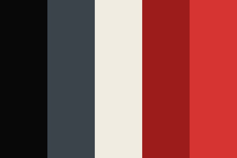 Imperial Red Color Palette