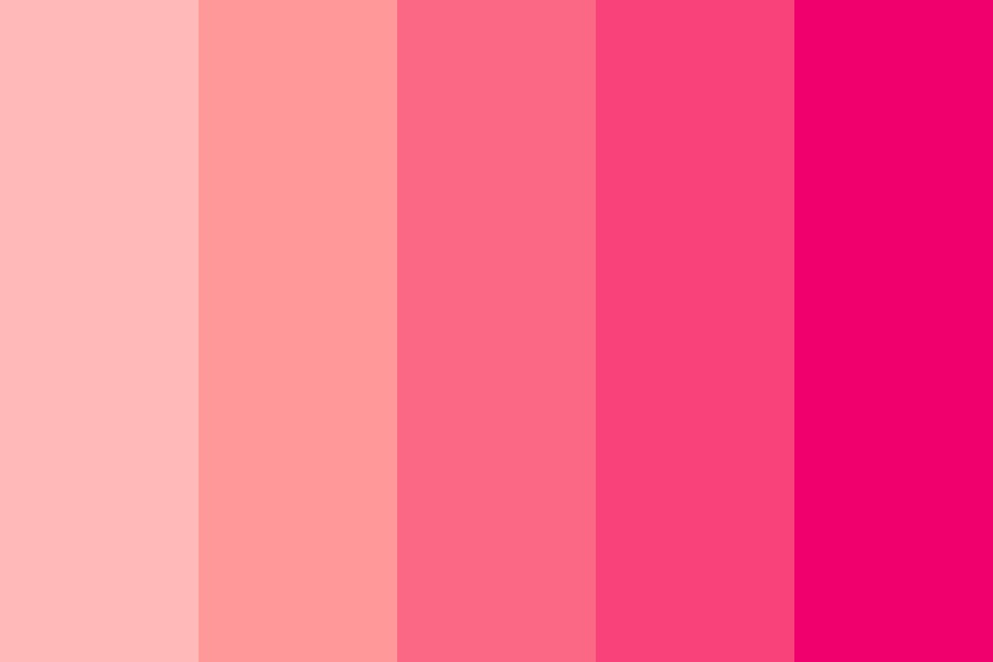In A Pink Mood Color Palette