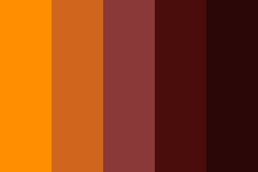 In Fall Color Palette