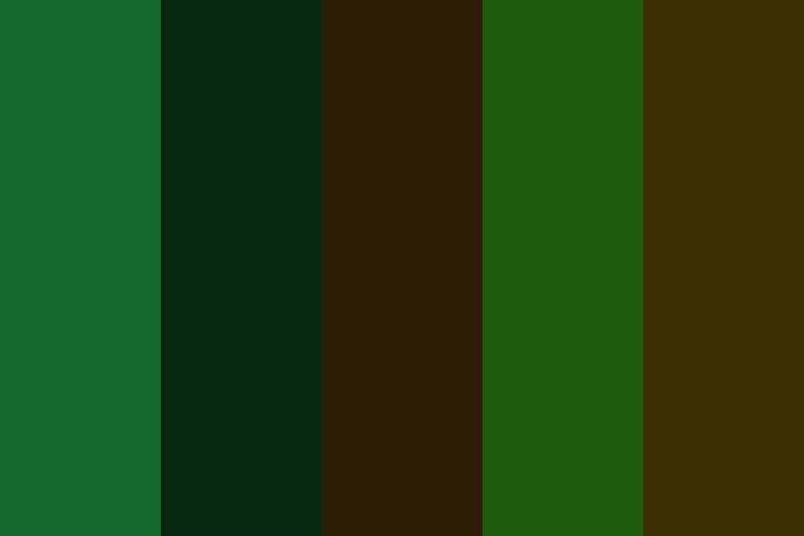 In The Forest Color Palette