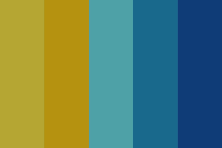 In The Night Color Palette