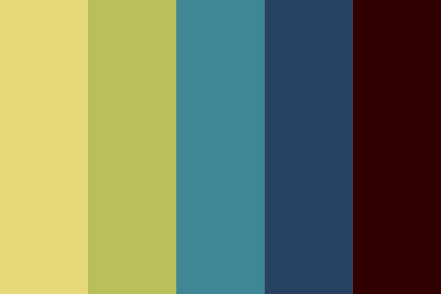 Incredibly Strange Color Palette