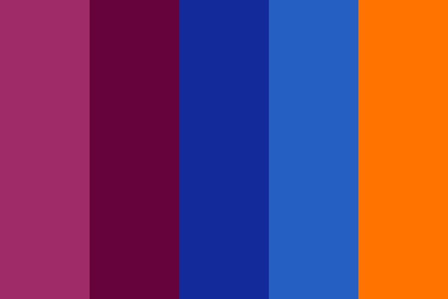 Indian Colours Dark Color Palette