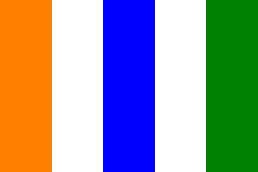 Indian Flag Color Palette