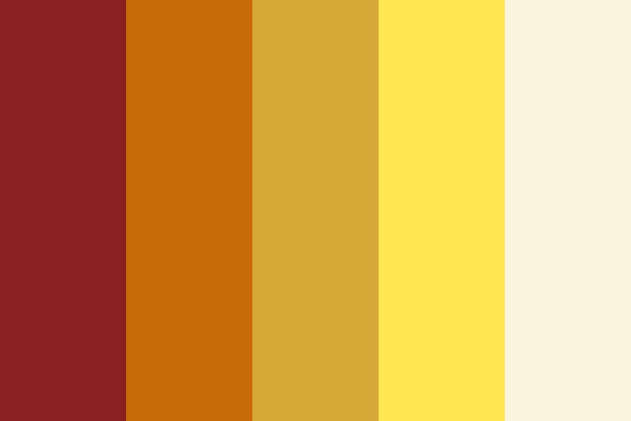 Indian Summer Color Palette