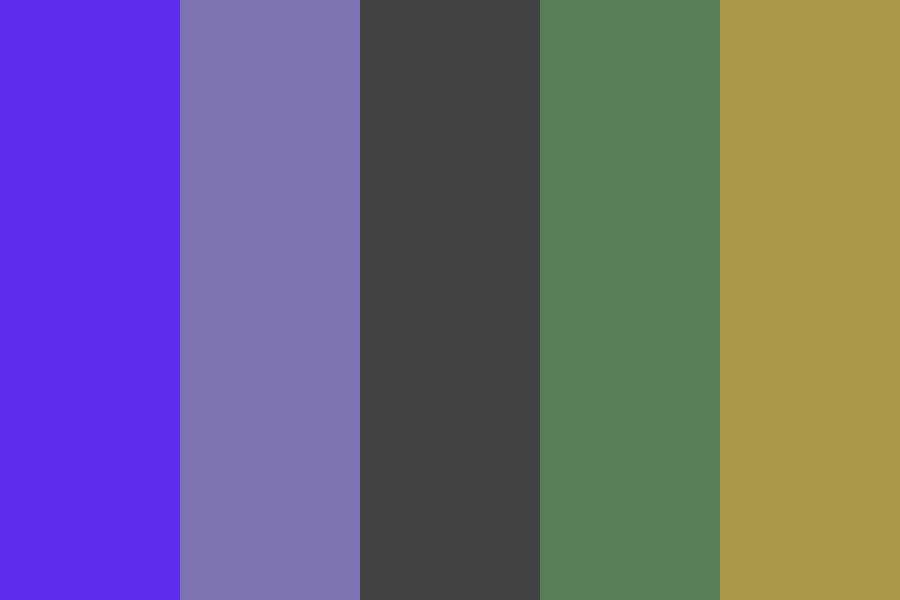 Indigo Cure Color Palette