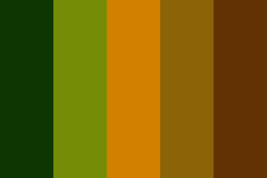 Innerjungle Color Palette
