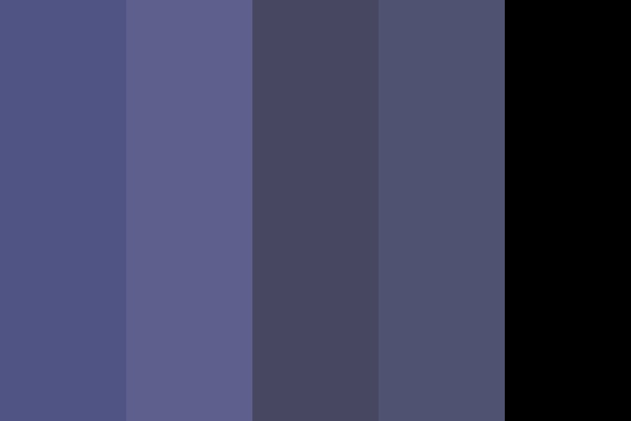 Is It Nighttime Color Palette