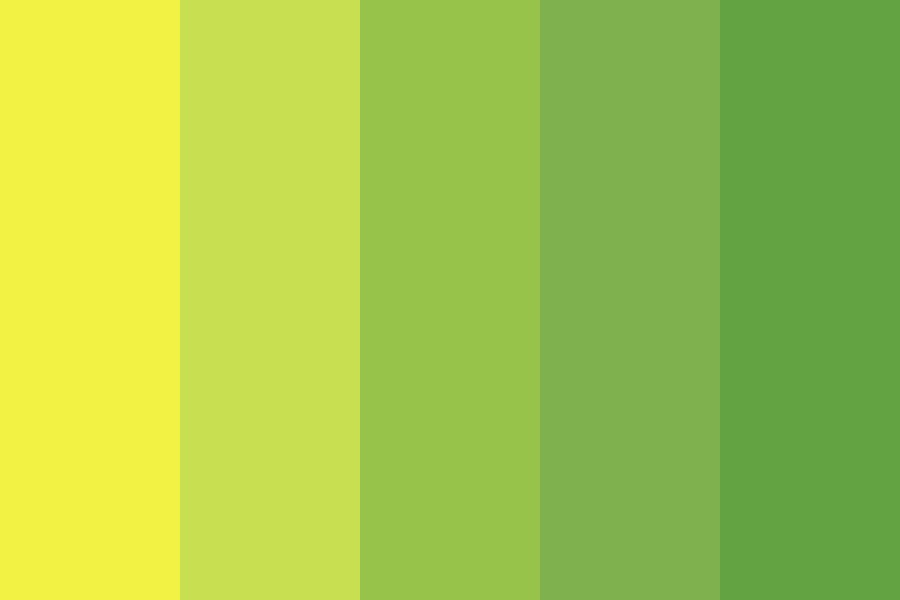 It Is Hard To Shade Yellow Color Palette