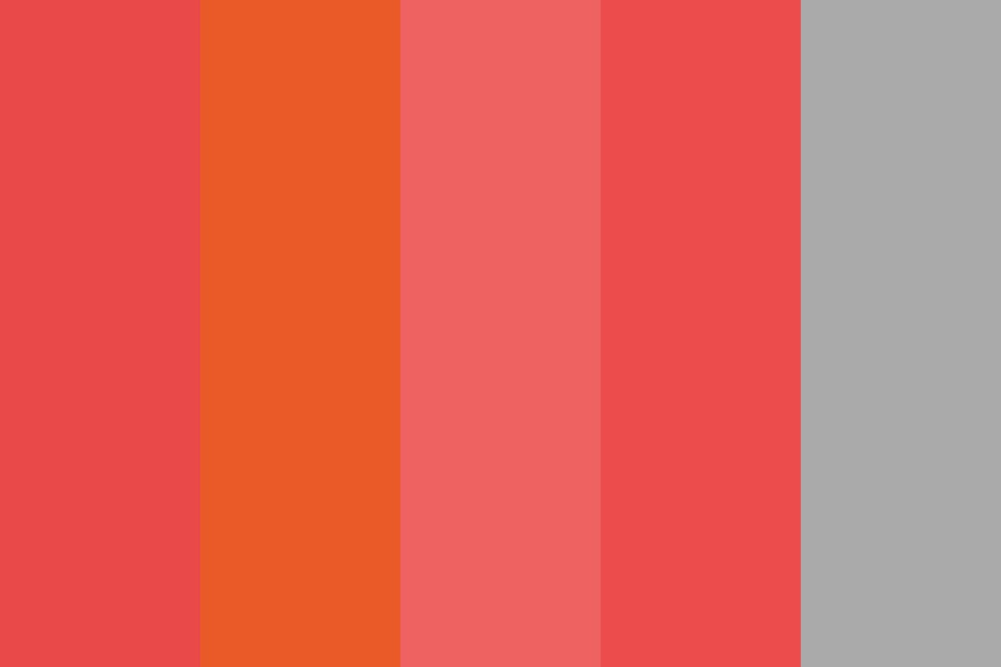 Italian Reds Color Palette