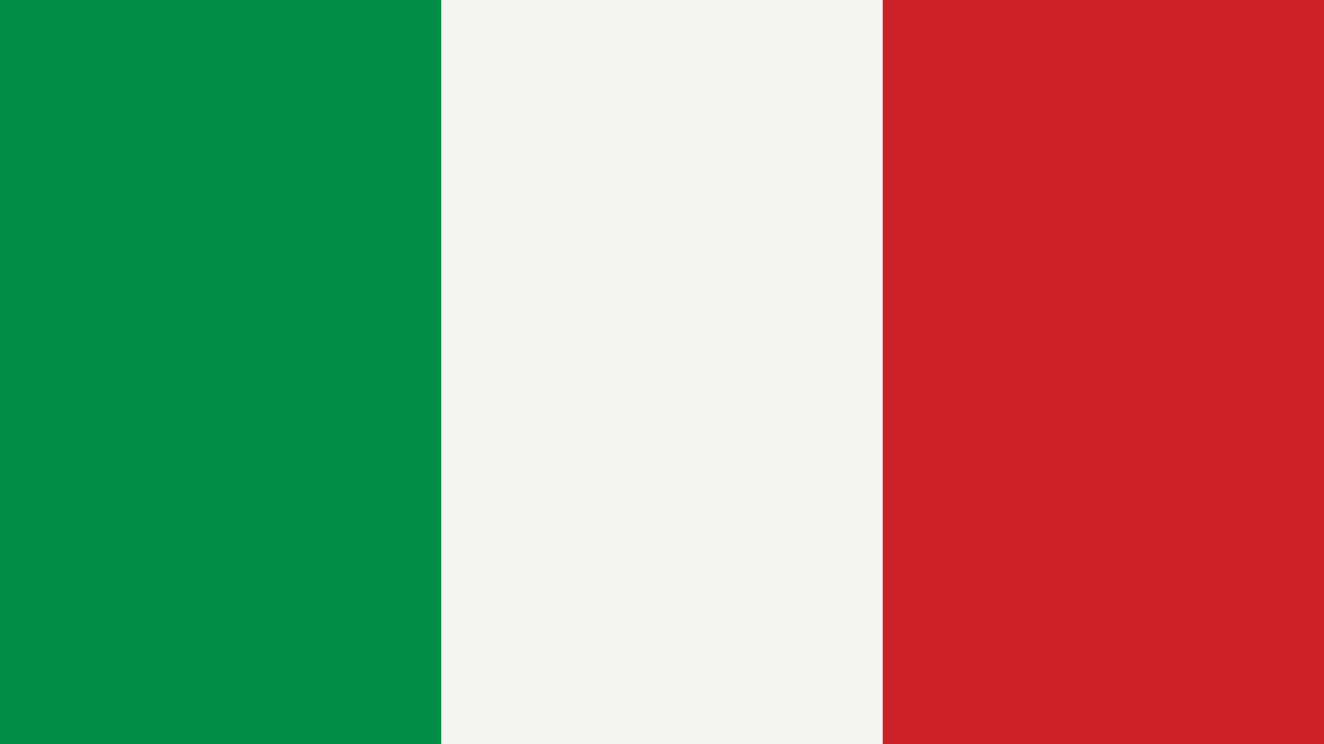 Italy Flag Color Palette