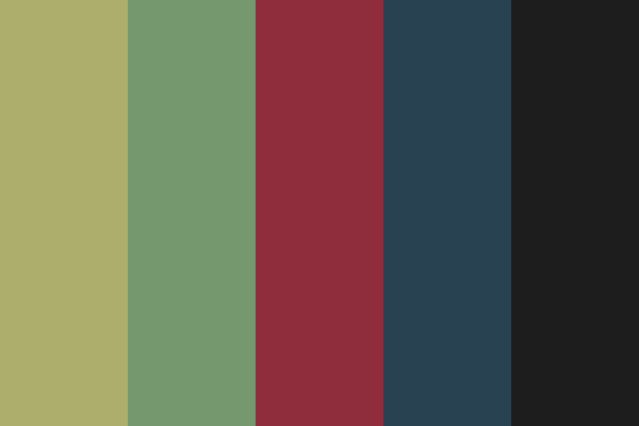 Itisdarkinhere Color Palette