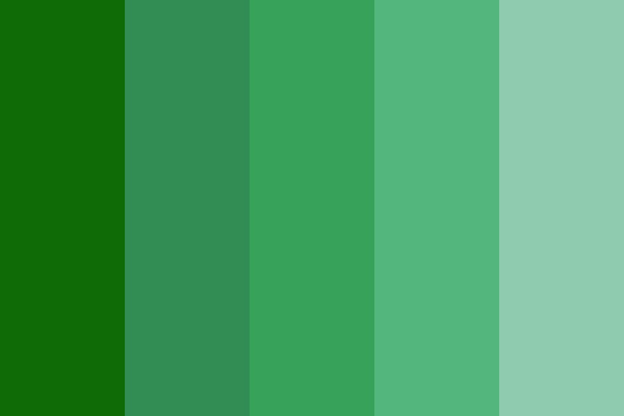 Its Just Fvcking Green Color Palette