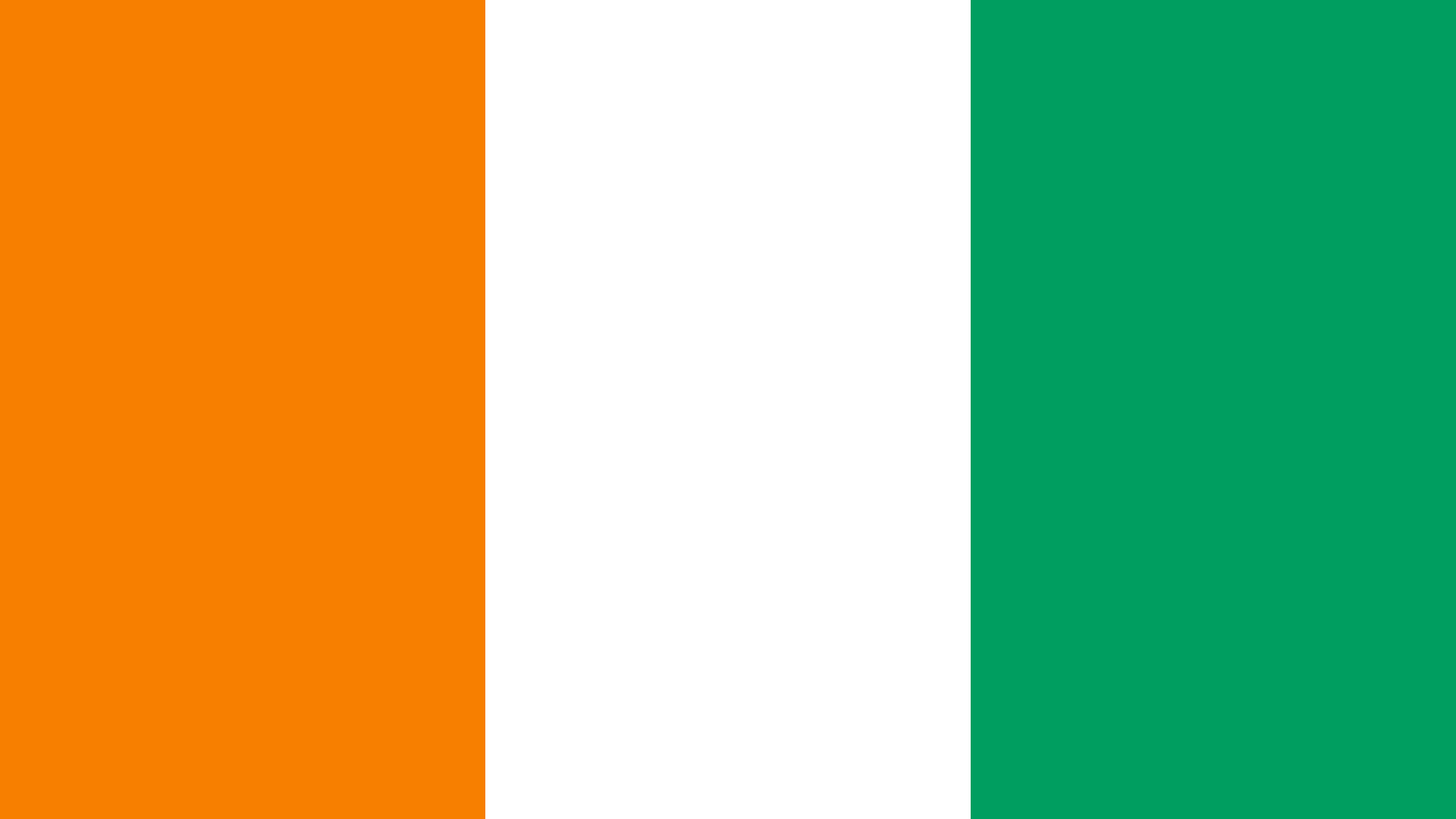 Ivory Coast Flag Color Palette