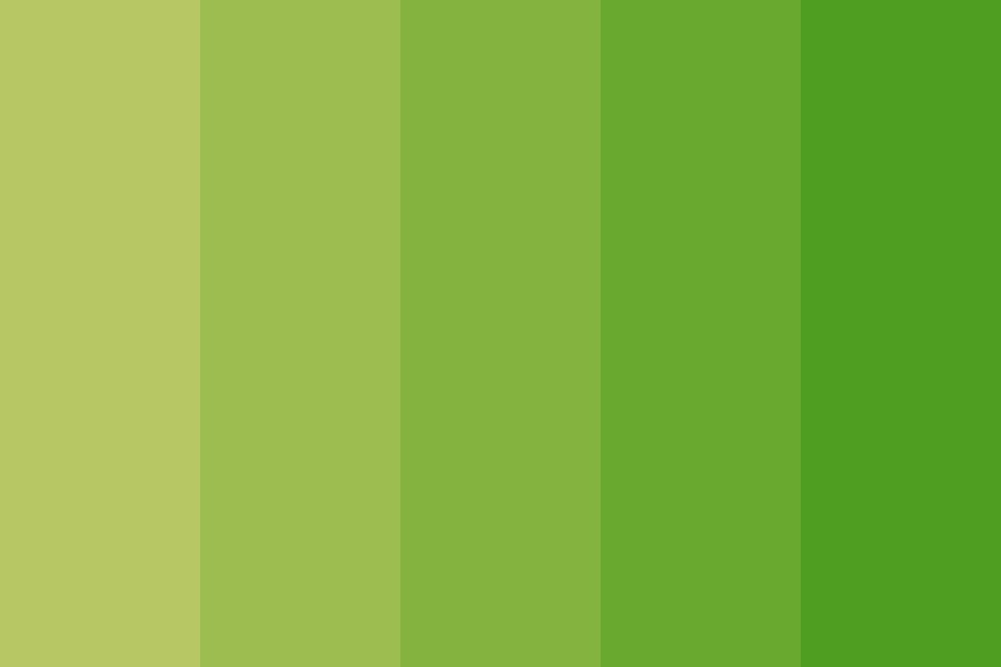 Jolly Green Color Palette