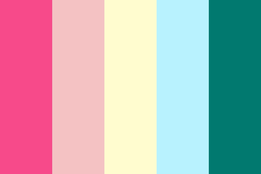 June Wedding Color Palette