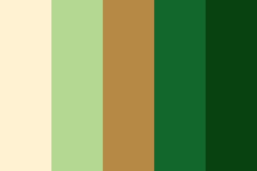 Jungle Beach Color Palette