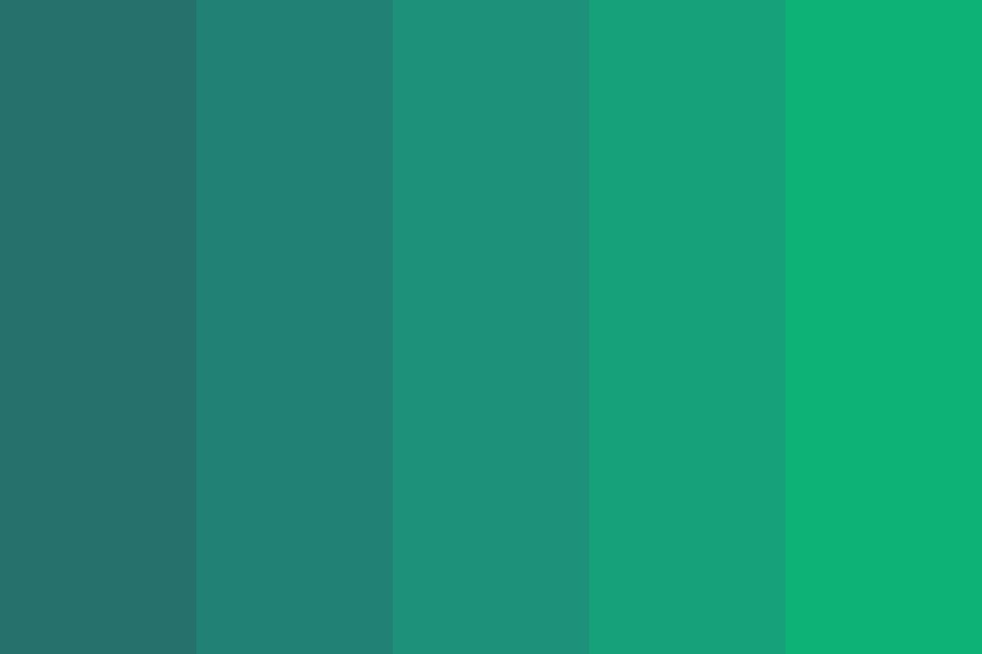 Jungle Beats Color Palette