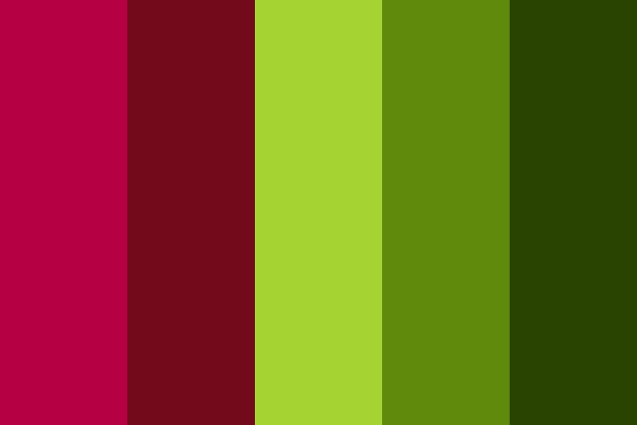 Jungle Berry Color Palette