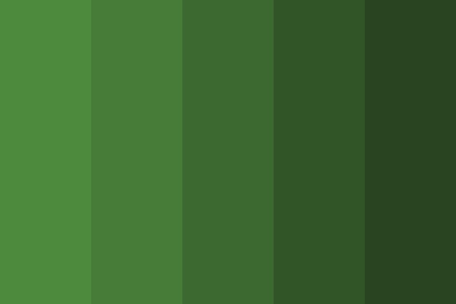 Jungle Green Color Palette