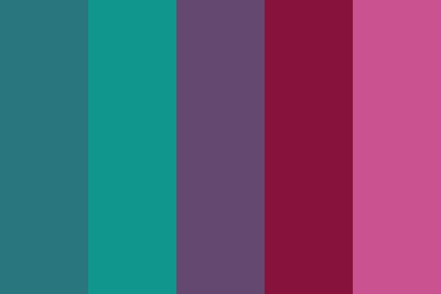 Jungle Parrot Color Palette