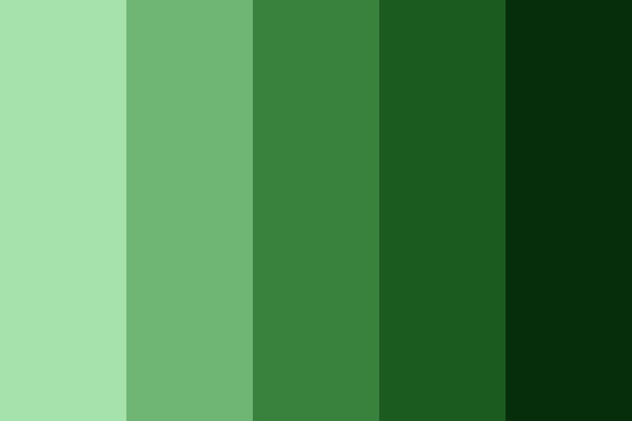 Jungle Within A Greenhouse Color Palette