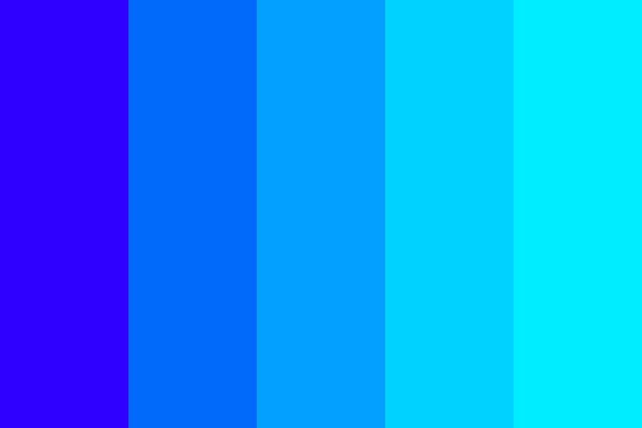 Just Blue Color Palette