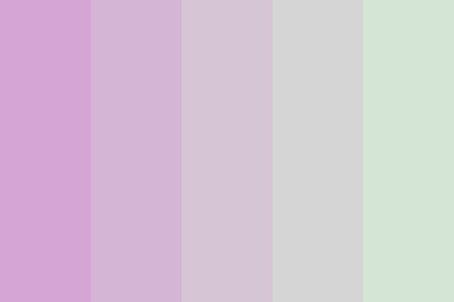 Just Like That You Fade Away Purple Into Green   I Color Palette